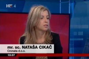 Nataša Cikač, HRT