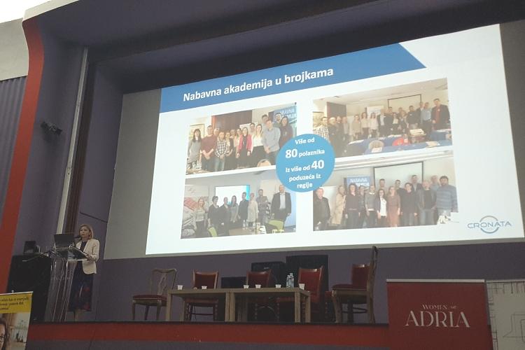 Nataša Cikač na konferenciji u Varaždinu