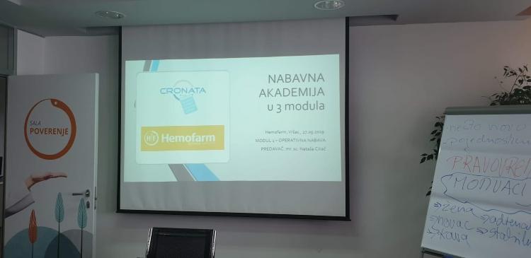 Modul Operativna nabava, Srbija, Nataša Cikač