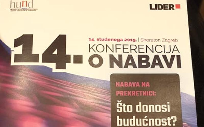 HUND Lider 14. Konferencija o nabavi 2019.