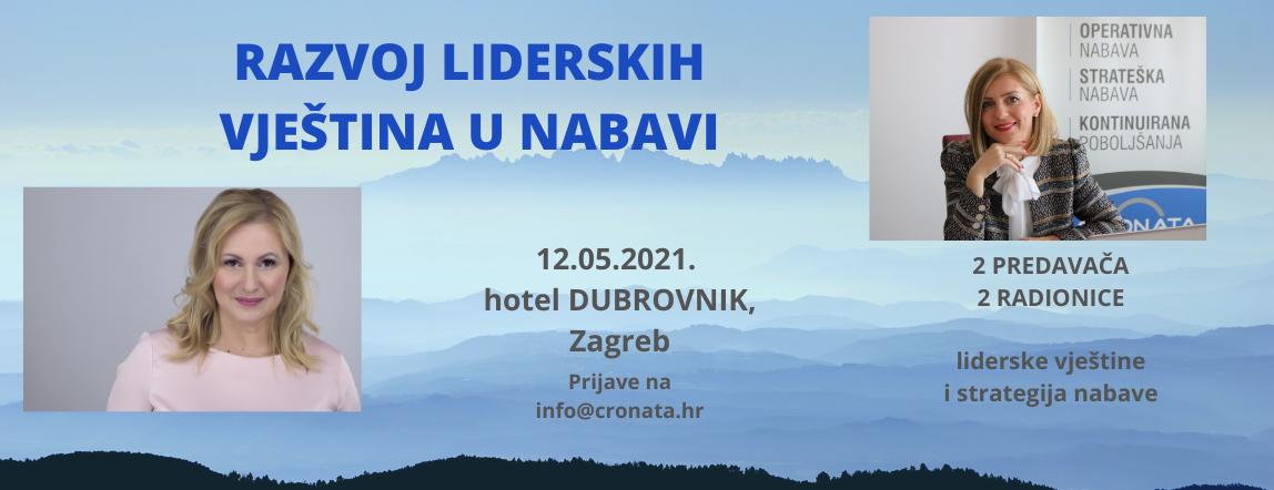 Radionica: Razvoj liderskih vještina u nabavi, Zagreb 2021